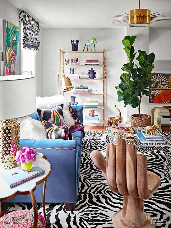 Ugly eclectic living