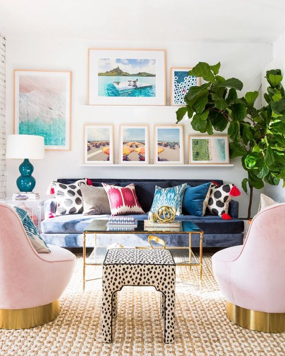 Nice eclectic living
